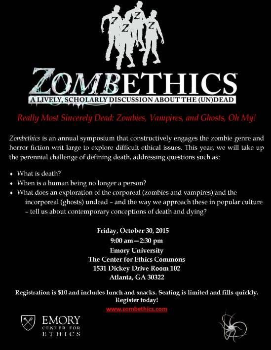 ZombethicsFinal 2015 flyer